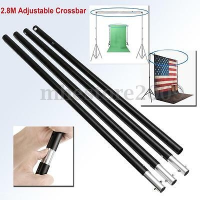 9.2ft Adjustable Crossbar Photo Backdrop Photography Background Support Stand