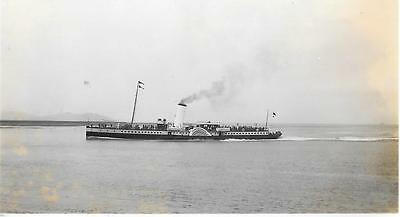 Paddle Steamer  P&A Campbell White Funnel Original Photograph