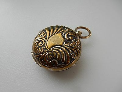 Early White Metal/ Brass Sovereign Coin Holder