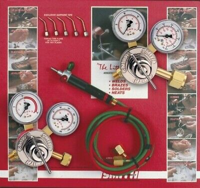 SMITH JEWELRY TORCH OUTFIT w/ regulators 23-1003