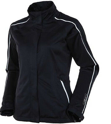 Sunce Ladies Princess Flexvent Tornado 100% Waterproof Golf Jacket-Mrrp £195