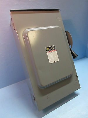 Square D D224NRB 3R 200 Amp Fused Safety Switch 2-Pole 240V Fusible 200A