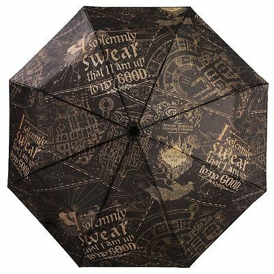 Official Harry Potter Solemnly Swear Folding Umbrella - Ladies Accessories