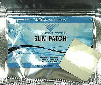 Weight Loss SLIM PATCH Fucoxanthin Forskolin Diet Trim WeightLoss New Absonutrix