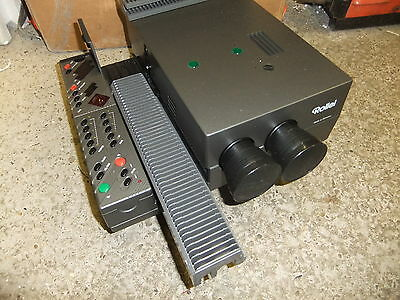 Slide projector ROLLEI ROLLEIVISION digital slide dissolve projector + BROWN BOX