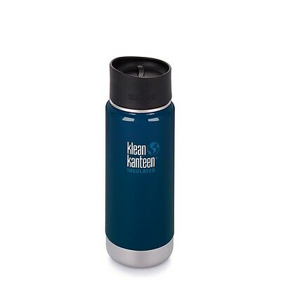 Klean Kanteen Wide Vacuum Insulated Bottle 473Ml (Deep Sea)