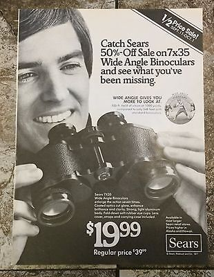 Vintage 1977 Magazine Advertisement - Sears Roebuck & Co. - Print Ad