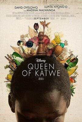 Queen of Katwe - original DS movie poster  D/S 27x40
