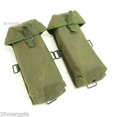 Australian Army Vietnam Issue L2A1 SLR & L4 Mag Pouches - Unissued