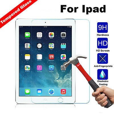 Real Tempered Glass Guard Screen Protector Film for iPad 2/3/4  Mini4 Air Air2
