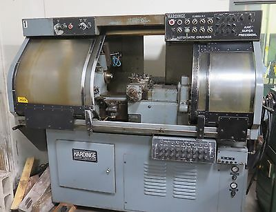 HARDINGE Model AHC Super Precision Automatic Chucker and Bar Lathe