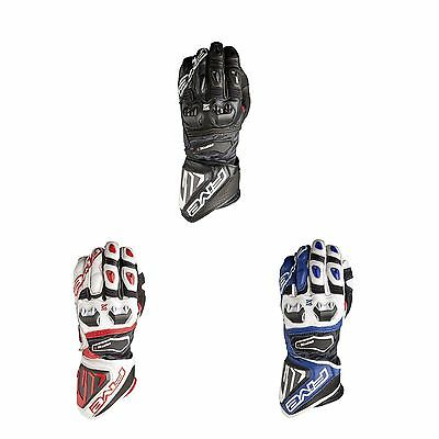 Five Motorcycle / Bike / Road / Track RFX1 Leather / Carbon Gloves