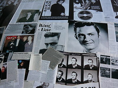 Johnny Cash - Magazine Cuttings Collection (Ref Xc)
