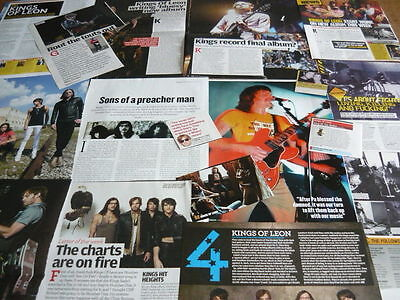 Kings Of Leon - Magazine Cuttings Collection (Ref E)
