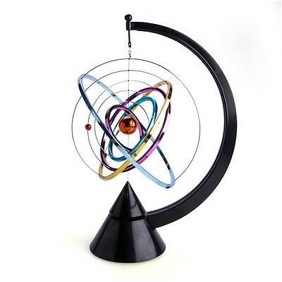 44882 Kinetic Art Solar System Powered By Physics Desktop Piece Novelty Gift
