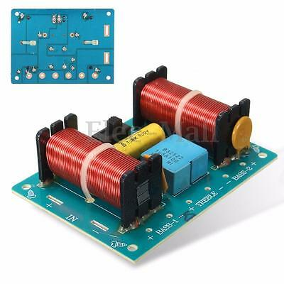 Treble Bass 3 Way Frequency Divider Speaker Audio Crossover Filters Board DIY