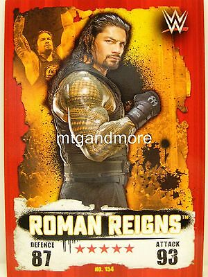 Slam Attax Takeover - #154 Roman Reigns