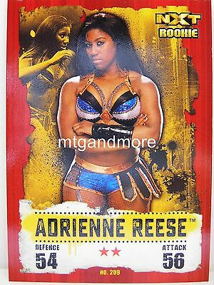 Slam Attax Takeover - #209 Adrienne Reese
