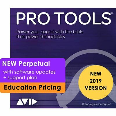Avid Pro Tools 2018 Academic Digital Audio Workstation Perpetual (Card + iLok)
