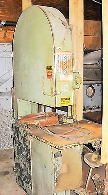 J A Fay & Egan Co Bandsaw resaw tilting table 36 inch cut
