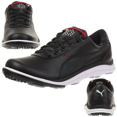 Puma BioDrive Leather Herren Golfschuhe Golf 188337 01 black