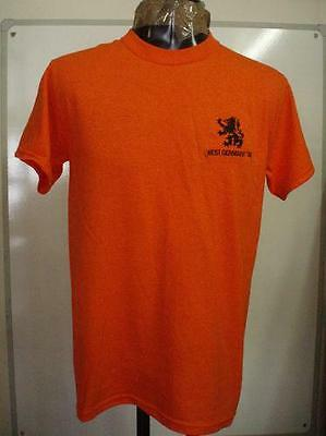 Holland Retro 1974 West Germany World Cup Tee Shirt Size Men's Xxl Brand New