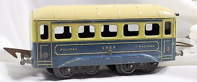 Ancien Wagon JEP  Pullman SNCF UNIS France 18.5 cm + attaches