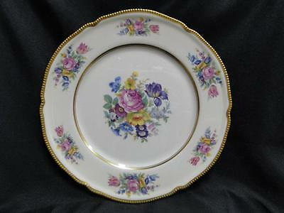 Castleton China, Castleton Rose, Floral, Gold Trim: Dinner Plate (s) AS IS