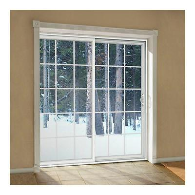 Sliding Gliding Patio Door Andersen Perma Shield 60x80 Grille LowE White d92 NEW