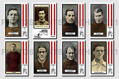 LIVERPOOL - CIGARETTE CARD HISTORY 1900-1939 - Collectable postcard set # 2