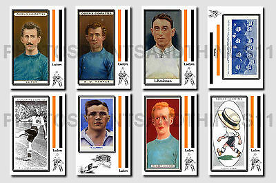 LUTON TOWN - CIGARETTE CARD HISTORY 1900-1939 - Collectable postcard set # 1