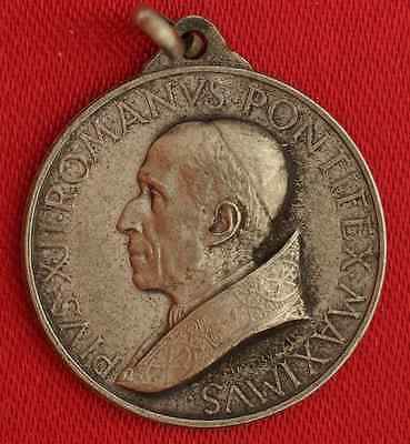 Vintage POPE PIUS XII Medal HOLY DOOR Medal signed MISTRUZZI Medal