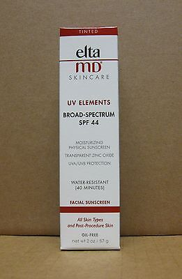 ELTAMD Elta MD Tinted UV Elements Broad Spectrum SPF 44 2 oz / 57 g EXP 11/2020