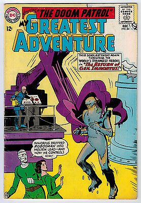 My Greatest Adventure #84 3.0 White Pages Silver Age