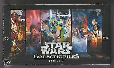 2013 Star Wars Galactic Files Series 2  Factory Sealed Hobby Box