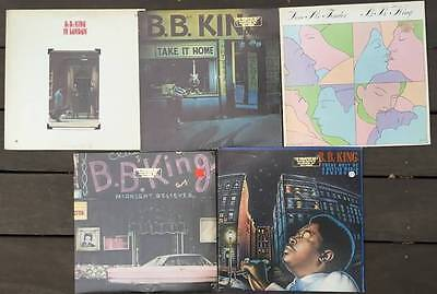 B.B. KING 5 LP Records Lot ALL XLNT TO NM Take It Home In London Blues