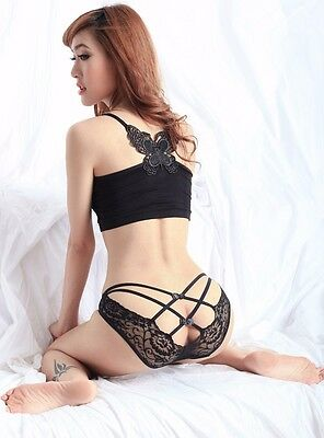 Women's Lace Lingerie G-string Briefs Underwear Panties T string Thongs Knickers