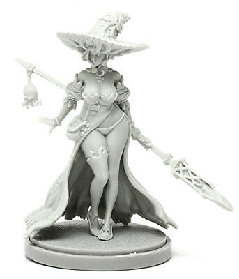 █ 30mm Resin Disciple of the Witch 1 Kingdom Death Unpainted Unbuild WH032