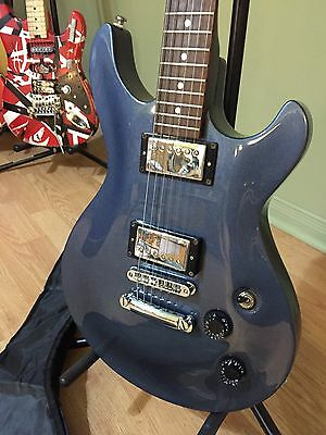 Rare 2001 Cort M-500 Metallic Blue Electric Guitar And New Accessories