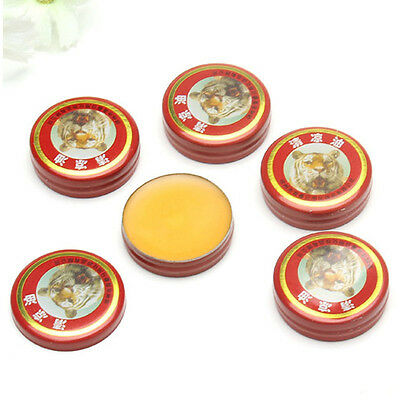 5Pcs Tiger Balm Pain Relief Ointment Massage Red White Muscle Rub Aches