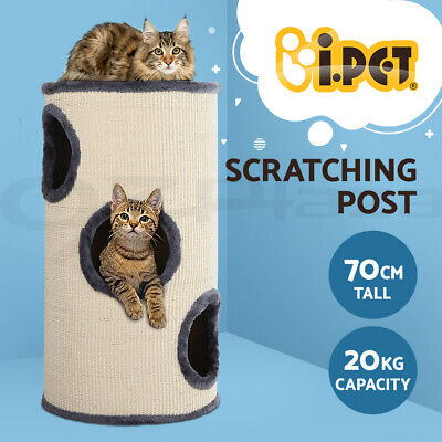Cat Scratching Post Tower Tree Scratcher Condo Pole House Furniture Barrel 70CM