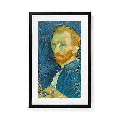 "Meural Canvas Frame, 29 x 18"", Black #BLACK"