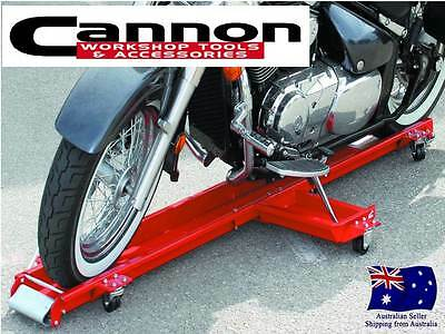 Low Profile 1250 Lb. Motorcycle Dolly Storage Cart w/ Swivel Casters BIKE LIFT