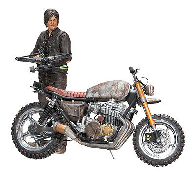 The Walking Dead Action Figure Daryl Dixon with Chopper Season 5/6 18 cm Toys