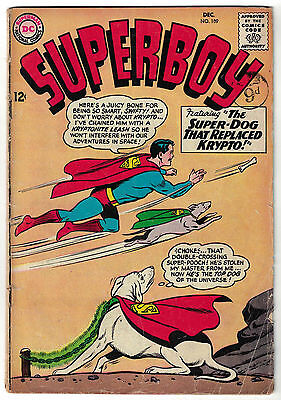 DC Comics SUPERBOY Number 109 The Super-Dog That Replaced Krypto! VG+