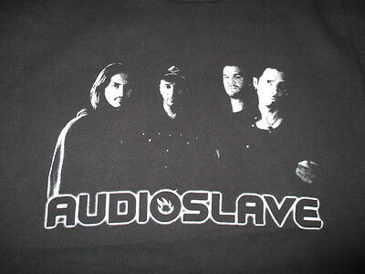 AUDIOSLAVE Concert Tour (MED ) T-Shirt CHRIS CORNELL TOM MORELLO