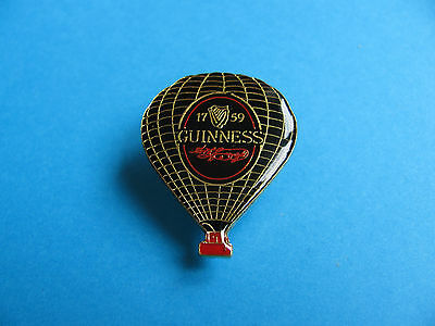 Guinness Hot Air Balloon Pin Badge. VGC. Unused.