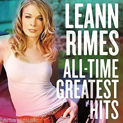 Leann Rimes ( New Sealed Cd ) All Time Greatest Hits / The Very Best Of
