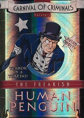 2013 Cryptozoic Batman: The Legend Carnival of Criminals Insert Card CP3