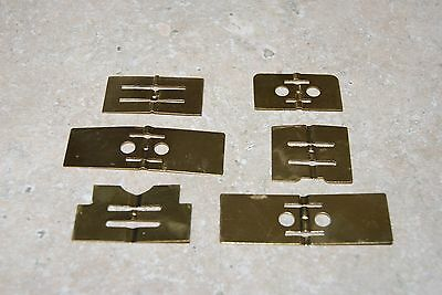 6 Brass Governor Assortment New Clock Parts